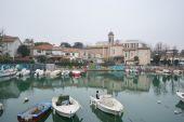 Embankment of the Porto Canale — Foto de Stock