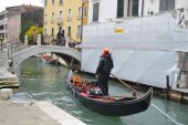 Góndola en venecia, italia — Foto de Stock