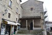 Old buildings in San Marino — Foto de Stock