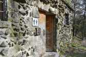 WC in San Marino fortress  — Foto de Stock