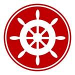 Steering wheel button — Stock Vector #59380975