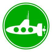 Submarine icon — Stock Vector
