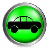 Car button — Stock Vector