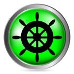 Steering wheel button — Stock Vector #60207137