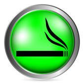 Cigarette button — Stock Vector