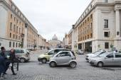 Old street in center of Rome — Stock Photo