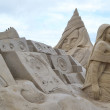 Sand Sculpture Festival in Lappeenranta — Stock Photo #61460409