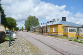 Street in Lappeenranta, Finland — Stock Photo