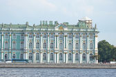 Winter Palace in St.Petersburg. — Stock Photo
