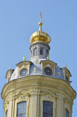 Fragment of Peter and Paul Cathedral — Stock Photo