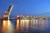 Trinity Bridge at night — Stock Photo