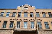 Old residential building, St.Petersburg. — Stock Photo