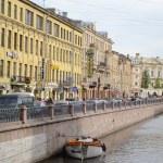 Griboyedov Canal Embankment. — Stock Photo #63842711