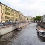 Griboyedov Canal Embankment. — Stock Photo #63842713