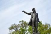 Statue of Alexander Pushkin. — Stock Photo