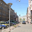 Street in the historic center of St. Petersburg. — Stock Photo #64310129