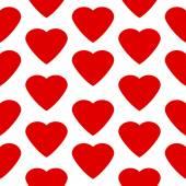 Love heart seamless pattern. — Wektor stockowy