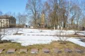 Old military cemetery in Lappeenranta. — Stock Photo