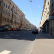 Street in the historic center of St. Petersburg. — Stock Photo #69007689