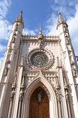 Gothic Chapel in Peterhof. — Stock Photo