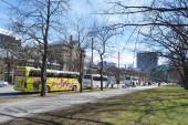 Street in center of Tallinn. — Stock Photo