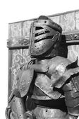 Armour of the medieval knight. — Stock Photo