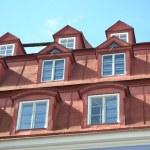 Mansard windows. — Stock Photo #72368507