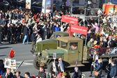 Parata della vittoria a San Pietroburgo. — Foto Stock