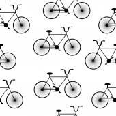 Bike symbol seamless pattern. — Stock Vector