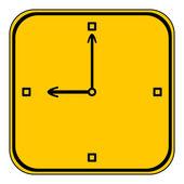 Clock icon. — Stock Vector