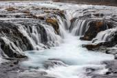 Bruarfoss waterfall, Iceland — Stock Photo