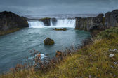 Godafoss, Northern Iceland — Stock Photo