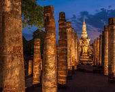 Sukothai historical park, Unesco world heritage — Foto de Stock