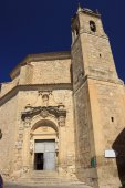 Cathedral in Cuenca — Stock Photo