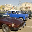 Постер, плакат: Rally of old cars