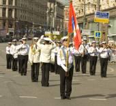 """Moskva, festival """"spasskaya tornet"""" — Stockfoto"""