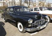 Retro car Volga — Stock Photo