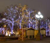Christmas Moscow — Stock Photo