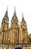 Lvov, cathedral of Saint Elizabeth  — Stock Photo