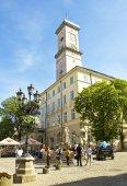 Lvov, Belediye Binası (Konseyi) — Stok fotoğraf