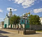 Kazan, Saint Nicholas cathedral — Stock Photo