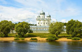 Great Novgorod, Saint George monastery — Stock Photo