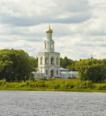 Saint George monastery, bell tower, Russia — Fotografia Stock