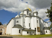 Great Novgorod, Russia, Saint Sophia cathedral — Stock Photo