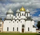 Saint Sophia cathedral, Great Novgorod, Russia — Stock Photo