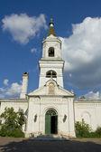 Tver, bílá Trinity church — Stock fotografie