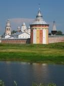 Spaso-Prilutskiy monastery, Vologda, Russia — Stock Photo