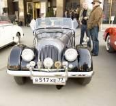 Retro car morgan — Stockfoto