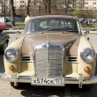 Постер, плакат: Retro car mercedes benz