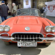 Постер, плакат: Retro car chevrolet corvette